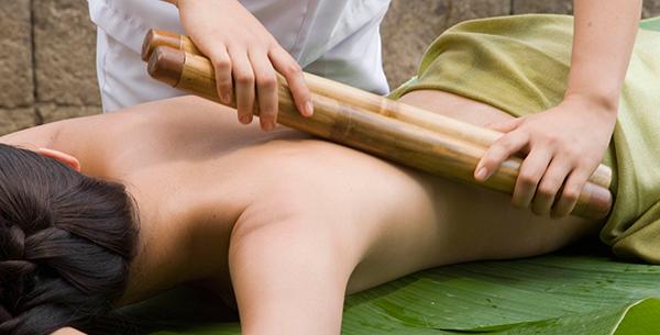 Masaje Bambu