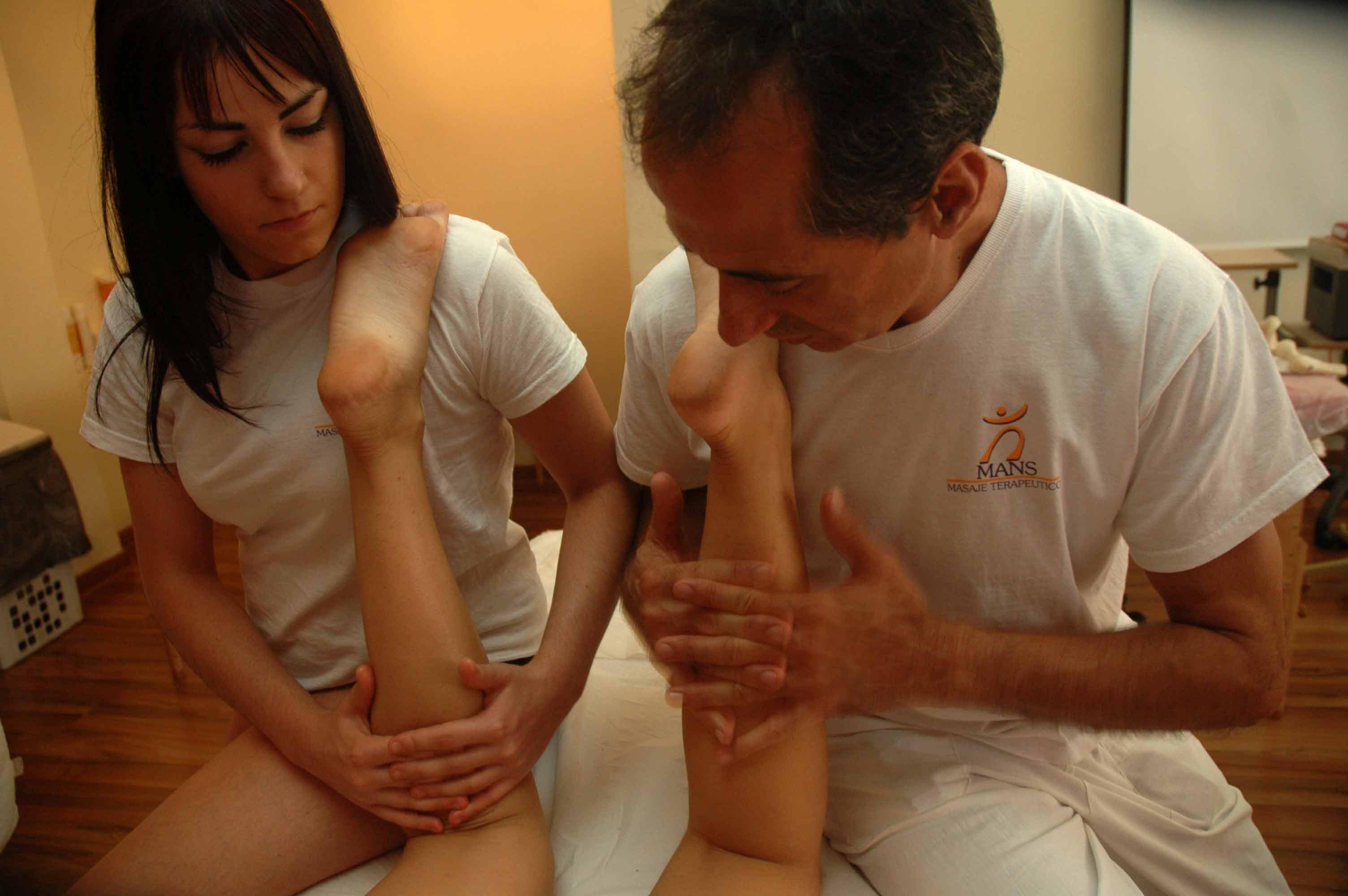 Curso de masaje mans