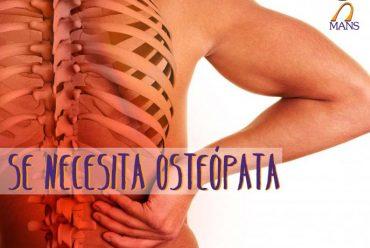Se necesita osteópata (Plaza ya cubierta)