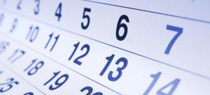 Calendario masaje