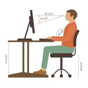 Cómo cuidar tu cuerpo en el trabajo