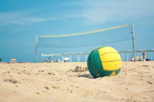 Balon Voleibol verano