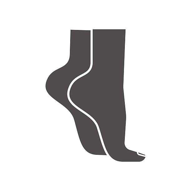 Fortalecer los pies. de puntillas