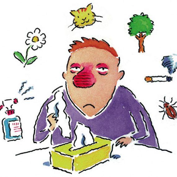 Reflexologia: Una nueva herramienta para combatir las alergias