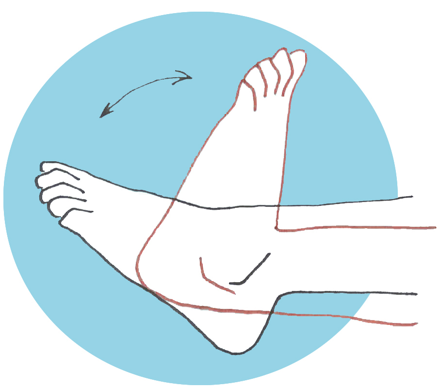 Fortalecer los pies extension